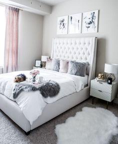 Tiffany Jais Houston Minted art prints, interiors, home decor Bedroom Apartment, Home Decor Bedroom, Apartment Ideas, Bedroom Furniture, Apartment Therapy, Bedroom Themes, Apartment Living, Glam Bedroom, Black Furniture