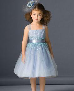 Vestidos de fiesta para niñas 2013