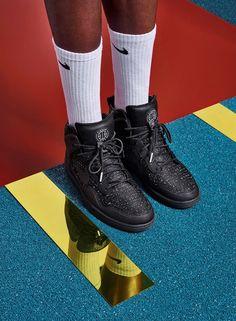 Nike x Pigalle Maria Tasula look book, Dazed