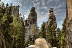 Kudy z nudy - Skalní město Adršpach - největší skalní město v České republice Mount Rushmore, Mountains, Nature, Travel, Beautiful, Blog, Art, Art Background, Naturaleza