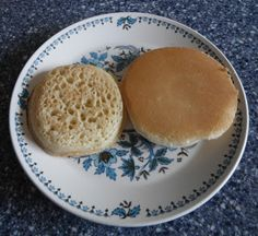 Time Was Antiques Family Blog: Crumpets for Tea with Marionberry Jam, Crumpet Recipe