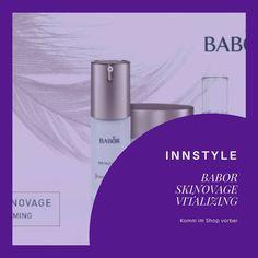 1-InnStyle — 🚫Babor SKINOVAGE VITALIZING - Zeitlos schön🚫 *... Perfume Bottles, Lipstick, Calm, Beauty, Sensitive Skin, Nice Asses, Pictures, Lipsticks, Perfume Bottle