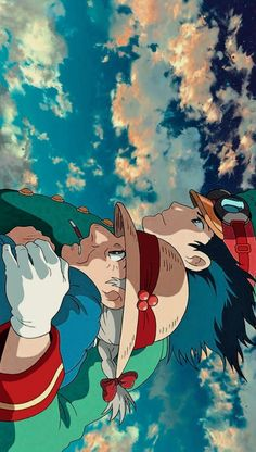 Studio Ghibli Art, Studio Ghibli Movies, Howl's Moving Castle, Animes Wallpapers, Cute Wallpapers, Howl And Sophie, Anime Scenery Wallpaper, Estilo Anime, Anime Screenshots