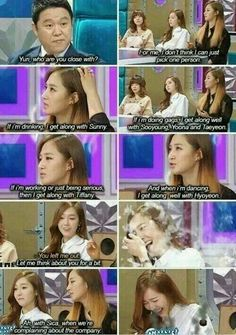 """You left me out."" ""Ah, with Sica, when we're complaining about the company."" Soshi♥"