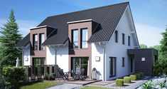 Doppelhaus Gemello SD 136 - Büdenbender Hausbau