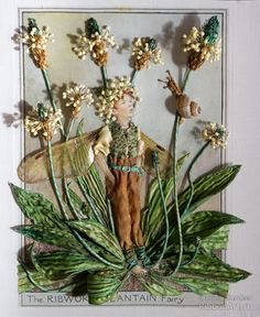 (1) Gallery.ru / Фото #1 - The Ribwort Plantain Fairy / Эльф Подорожник - marina-zherdeva