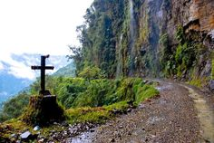 Bolivia's Road of Death Yungas Road, Scary Bridges, Rock Falls, Dangerous Roads, Hiking Trails, Beautiful Landscapes, Scenery, Around The Worlds, Challenges