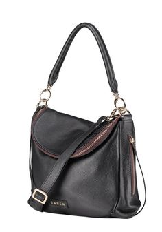 Oh-so functional, but a little bit scandalous; Saben Frankie handbag has been modified and simplified to a one-draped-pocket wonder! As a smaller version of the original Sabe