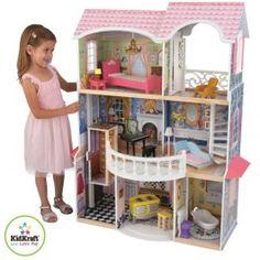 Une Maison de Poupée très grande et meublée !! C'est Parfait ! http://www.bebegavroche.com/maison-de-poupees-magnolia.html