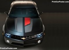 Chevrolet Camaro 45th Anniversary Edition 2012 poster, #poster, #mousepad