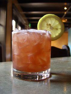 Bourbon Renewal - Bourbon, Lemon Juice, Creme de Cassis, Simple Syrup, Angostura Bitters.