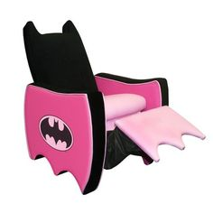 It's a Batgirl recliner. What's not to love? My only issue is it's only available in kid's sizes.