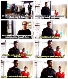 Oliver and Felicity #Olicity #TheFlashvsArrow ♥