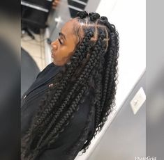43 Cool Blonde Box Braids Hairstyles to Try - Hairstyles Trends Box Braids Hairstyles, Try On Hairstyles, Baddie Hairstyles, My Hairstyle, Elegant Hairstyles, Hairstyle Ideas, Hair Ideas, Short Box Braids, Blonde Box Braids