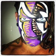 TNA Impact Zone - 16 Aug 2012 Wwe Jeff Hardy, Face Painting Designs, Paint Designs, Cool Face, Wwe Hardys, Creatures Of The Night, Professional Wrestling, Halloween Face Makeup, Instagram Posts