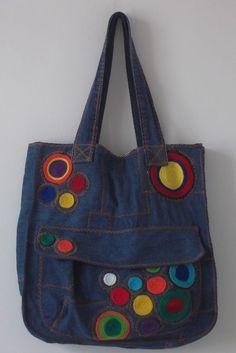 Bolsa Jeans produzido por valeria no AIRU