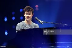 Shawn Mendes performs at Manchester Arena on April 28, 2017 in Manchester, England.
