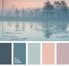 It is appropriate to apply this colour palette for a room decorated in chalet style somewhere in the mountains, because it has collected a cool hues that w. (color themes for wedding gray) Colour Pallette, Color Palate, Colour Schemes, Color Combos, Color Azul, Winter Colour Palette, Gold Colour, Paint Schemes, Pastel Colors
