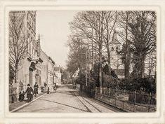 Breda De Duivelsbruglaan in Breda omstreeks 1921