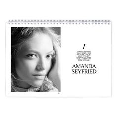 Amanda Seyfried  Fairy Tales Calendar by MovieShop on Etsy