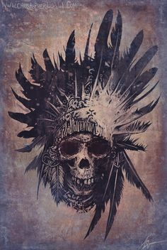 By Christopher Lovell I would get the headdress and a native girl or warrior instead of the skull