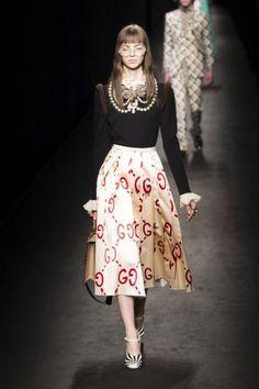 Gucci Show-Paris Fashion Week-ready to wear FALL/WINTER 2016