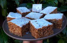 Diétás Sütemény Receptek Archives - Page 2 of 18 - Salátagyár Krispie Treats, Rice Krispies, Gluten Free Desserts, Stevia, Paleo, Healthy Recipes, Wellness, Smooth, God