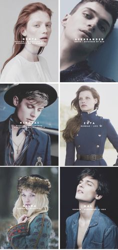 the grisha trilogy + name meanings ©sardothiened.tumblr.com