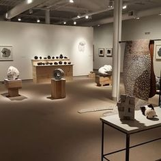 "Anna Hepler, installation shot of her exhibition ""Blind Spot"" @ University of Maine"