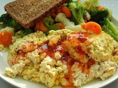 Tofu praženica - Recept Tofu, Cobb Salad, Rice, Jim Rice