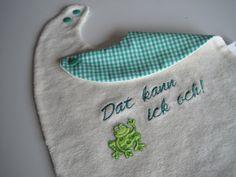 FabelHaft es Lätzchen Frosch von white turtle auf DaWanda.com