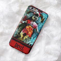 Creepy Devil Tarot Card iPhone 6 Case by Wraithe Designs. Strange Wonders Tarot Deck.