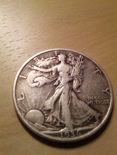 5 Walking Liberty silver half dollar coin s by DrewsCollectibles, $62.00