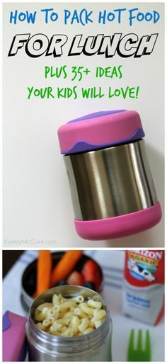 How to Pack Hot Foods For School Lunch PLUS Ideas Your Kids Will Love! Hot…How to Pack a Backpacking Pack for a Multi-day Hiking TripHealthy Creative School Lunch Ideas for Your Bento Box Cold Lunches, Toddler Lunches, Lunch Snacks, Toddler Food, Healthy Lunches, Bag Lunches, Toddler Dinners, Kid Snacks, Easy Snacks