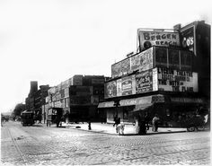 Broadway and 42nd St., N.Y. Date Created: c1898 by Bryon