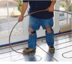 radiant heat for yurts