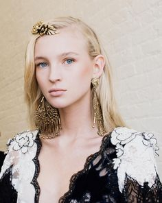 Rodarte+Gives+the+Floral+Crown+a+Major+Makeover+for+Spring+via+@WhoWhatWearUK