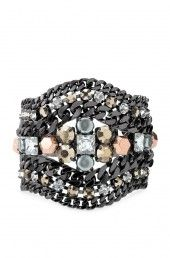 Kahlo Bracelet from Stella Dot is versatile.  Wear with jeans or cocktail dress!   #accessories #bracelets