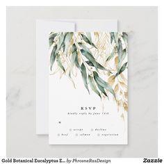 Sage Wedding, Wedding Rsvp, Diy Wedding, Wedding Suite, Unique Wedding Invitations, Bridal Shower Invitations, Eucalyptus Wedding, Response Cards, Personalized Wedding