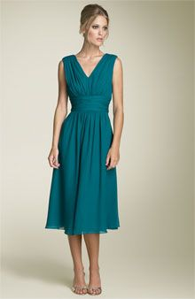 bridesmaids dresses in teal- so pretty!