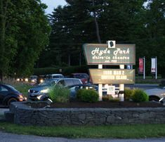 The Hyde Park Drive-In  Family owned & operated  When's the last time you went to a drive-in movie?