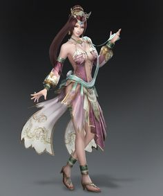 dynasty warriors 8 | Dynasty Warriors 8 Diaochan Artwork
