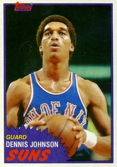 1981 topps basketball cards | on card dennis johnson card number 34 year 1981 set name 1981 topps ...