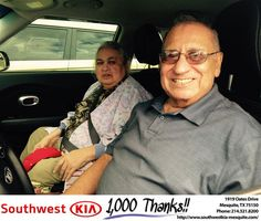 https://flic.kr/p/MeSfNV | Happy Anniversary to Samuel on your #Kia #Soul from Jerry Tonubbee at Southwest Kia Mesquite! | deliverymaxx.com/DealerReviews.aspx?DealerCode=VNDX