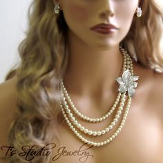 """Lillian"" Necklace Image"