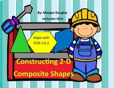 Constructing 2-d Composite Shapes. This pack allows students to stretch their basic understanding of composite shapes!