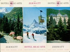 Hotel brochure from the 1960s
