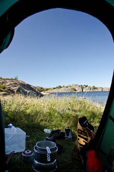 View from the tent   Flickr - Photo Sharing!
