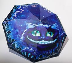 Alice in Wonderland - Book Umbrella - Umbrella - Alice in Wonderland Umbrella - We are all mad here - Lewis Carroll - Cheshire Cat