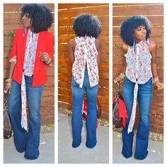 How to Wear High-Waist Wide-Leg Jeans | The o'jays, Love and Love the